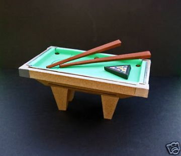Pool Table Template